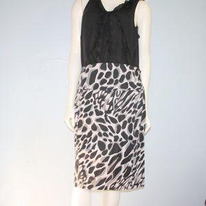 Express Print Pencil Skirt Size 12
